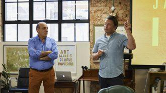 Interview met Jamie Oliver