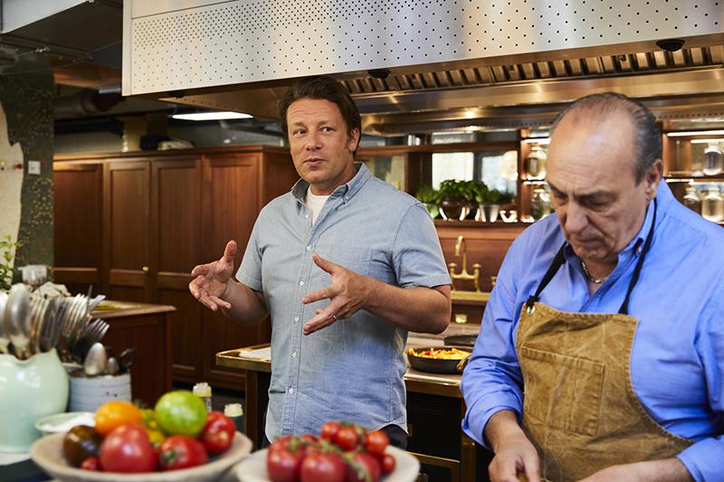 Jamie Oliver over de Italiaanse keuken