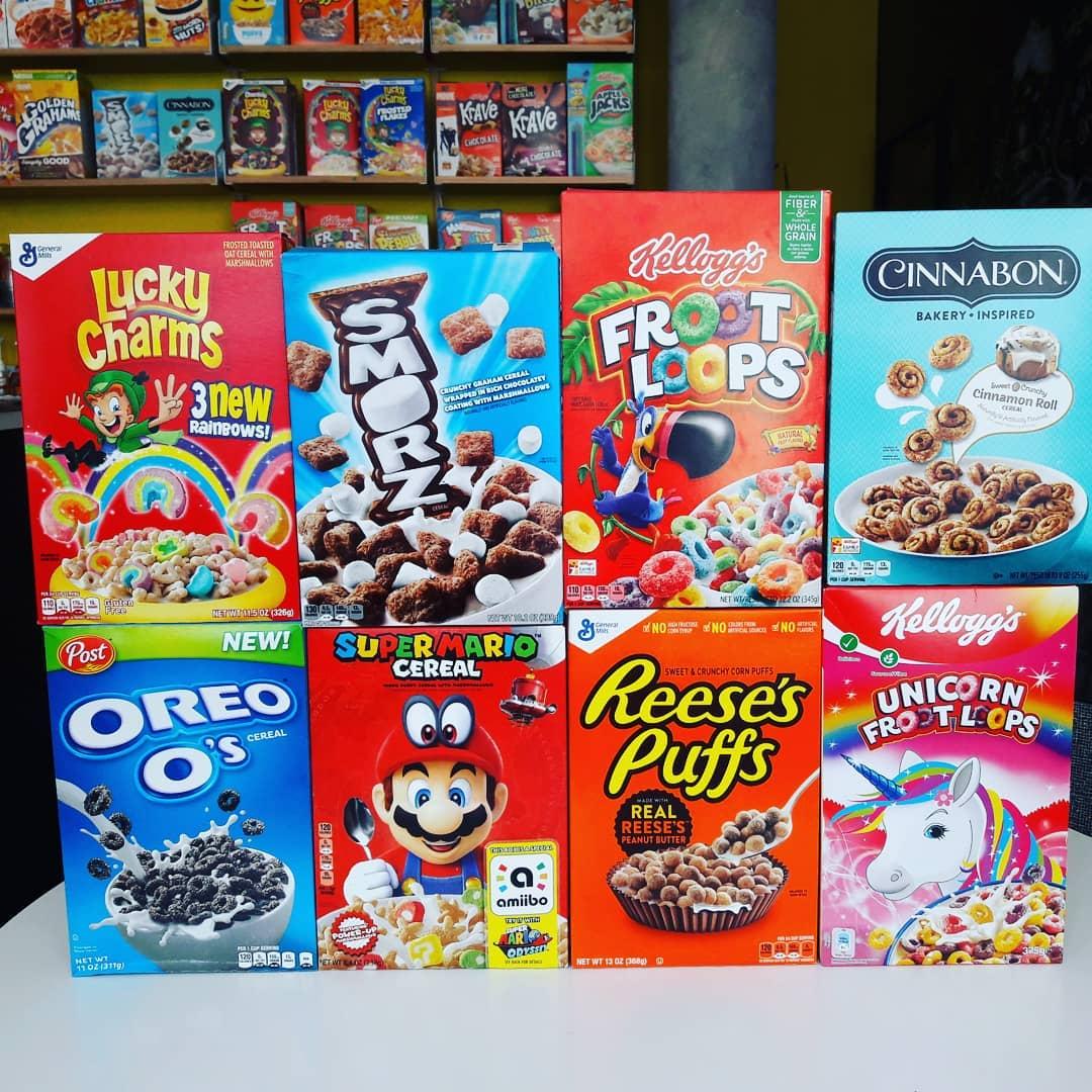 Cereals bij Cereal Heaven