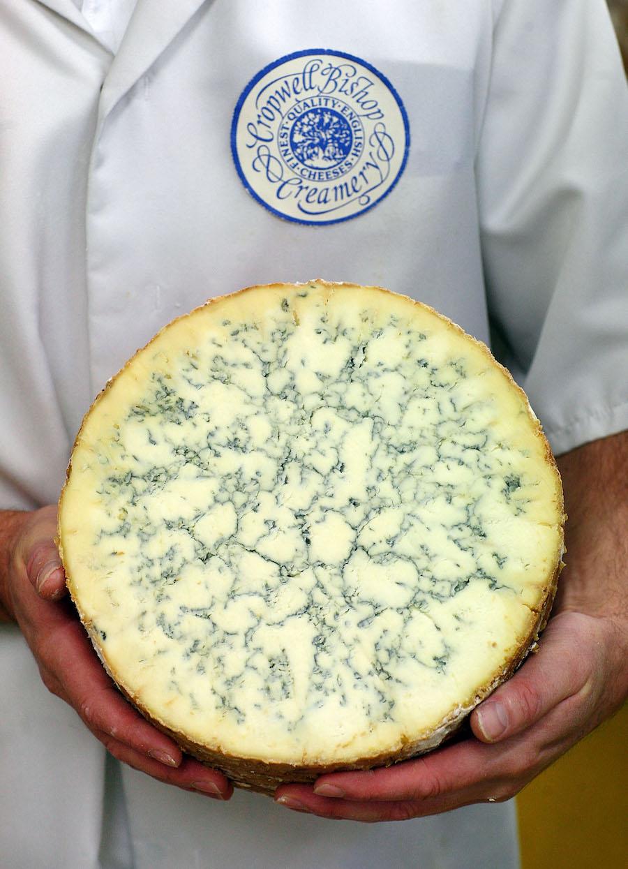 Soorten blauwe kaas: Blue Stilton