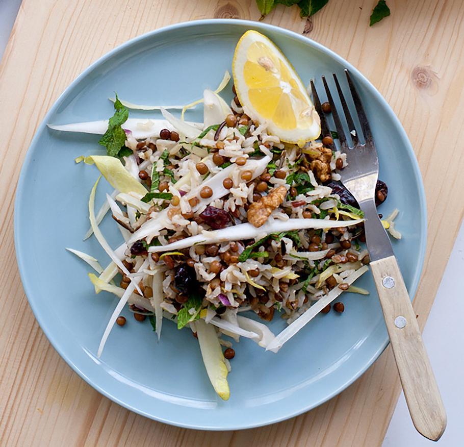 vegetarische recepten rijstsalade