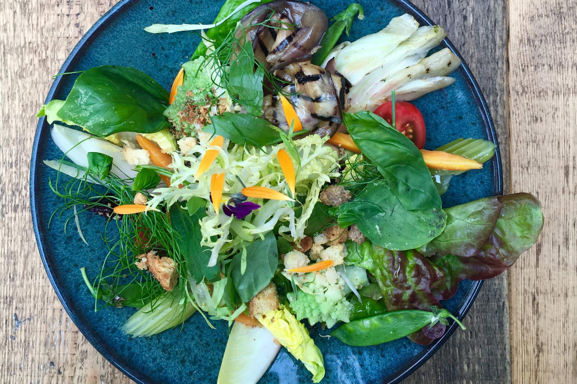 salade van restaurant