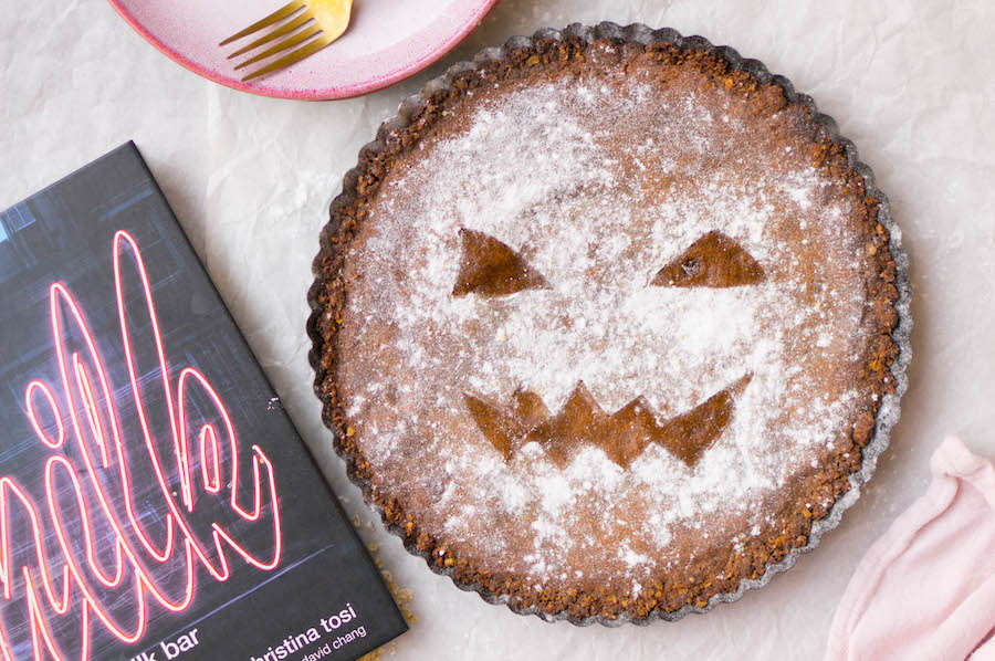 Crack pie voor Halloween