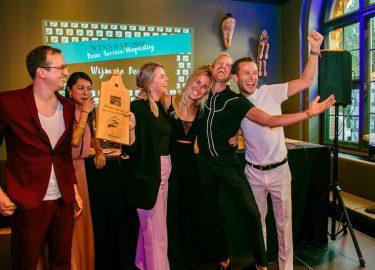Wijmpje Beukers bij de Foodbloggers Awards