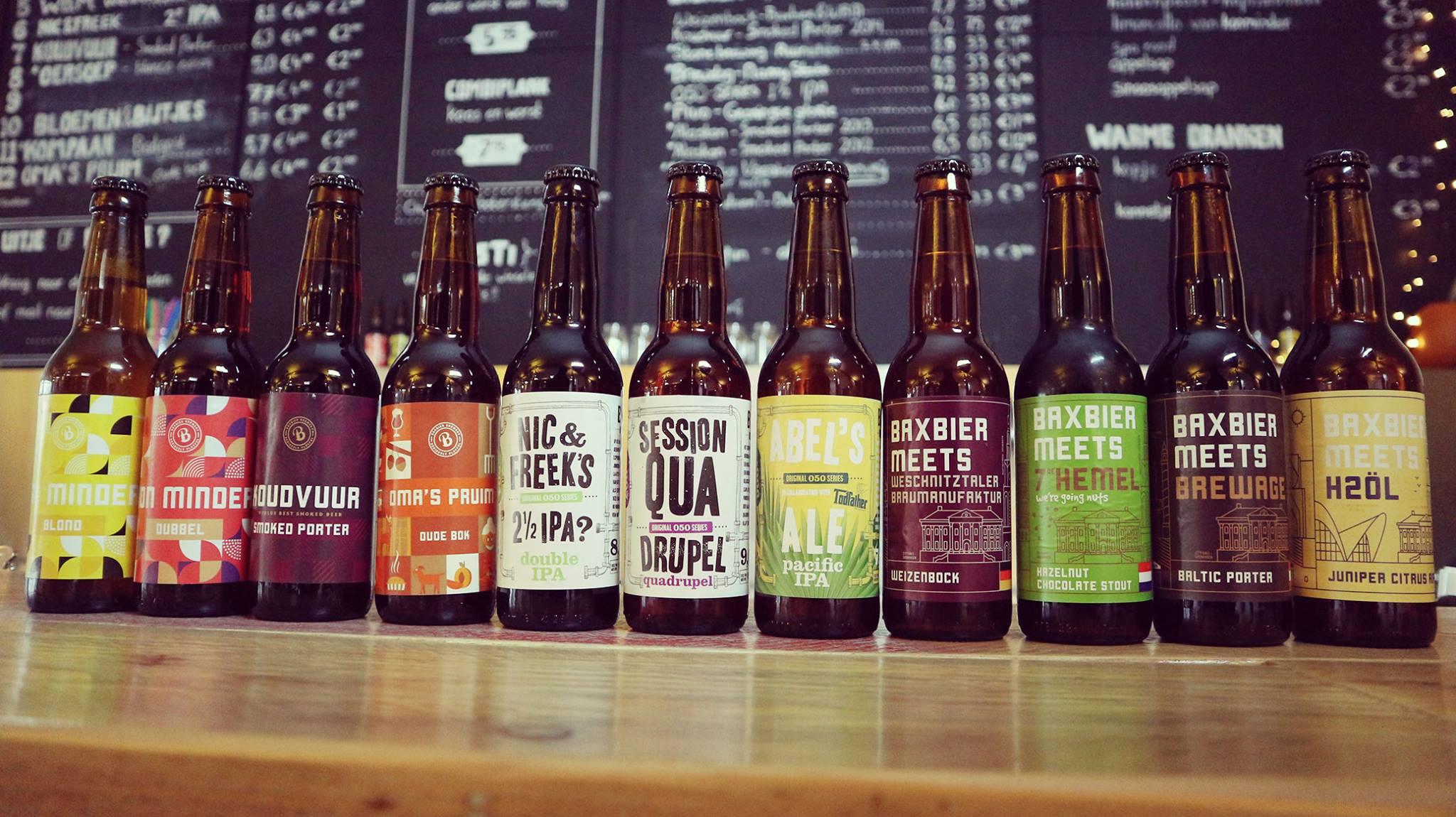Baxbier brouwerij in Groningen