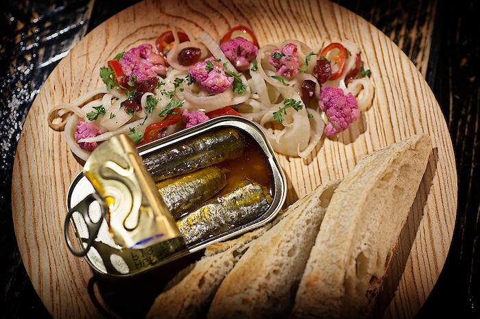sardines uit blik