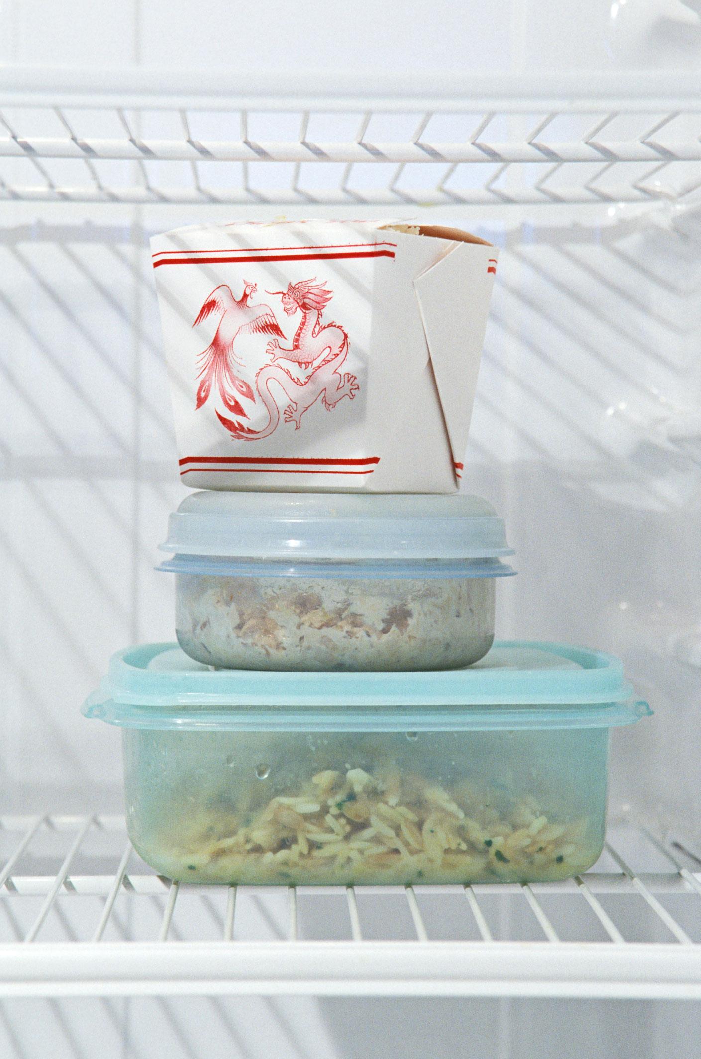 Eten afkoelen koelkast
