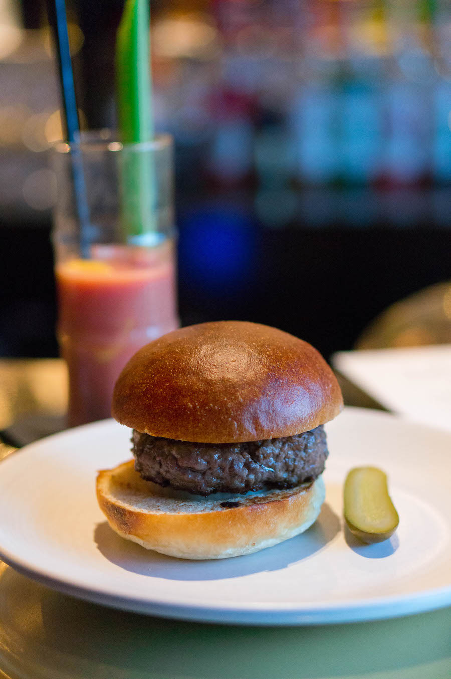 The Confidential Burger en een perfect serve