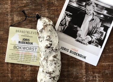 Bokworst van Brandt & Levie en Joris Bijdendijk