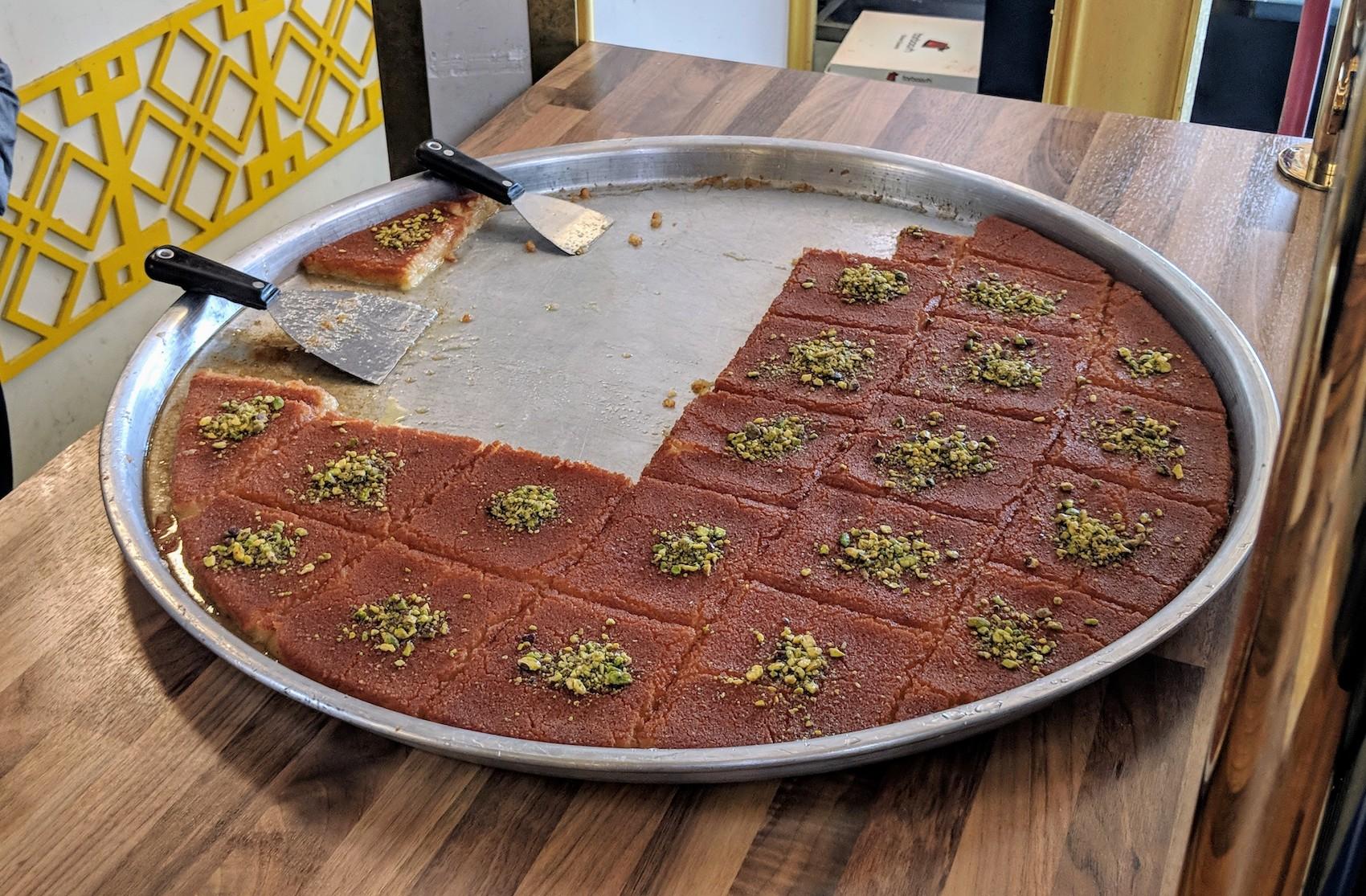 exotische gerechten Beverwijkse Bazaar zoete baklava