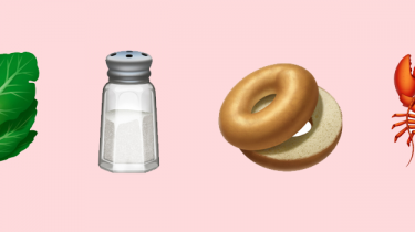 Food emoji's van de nieuwe Apple iOS update