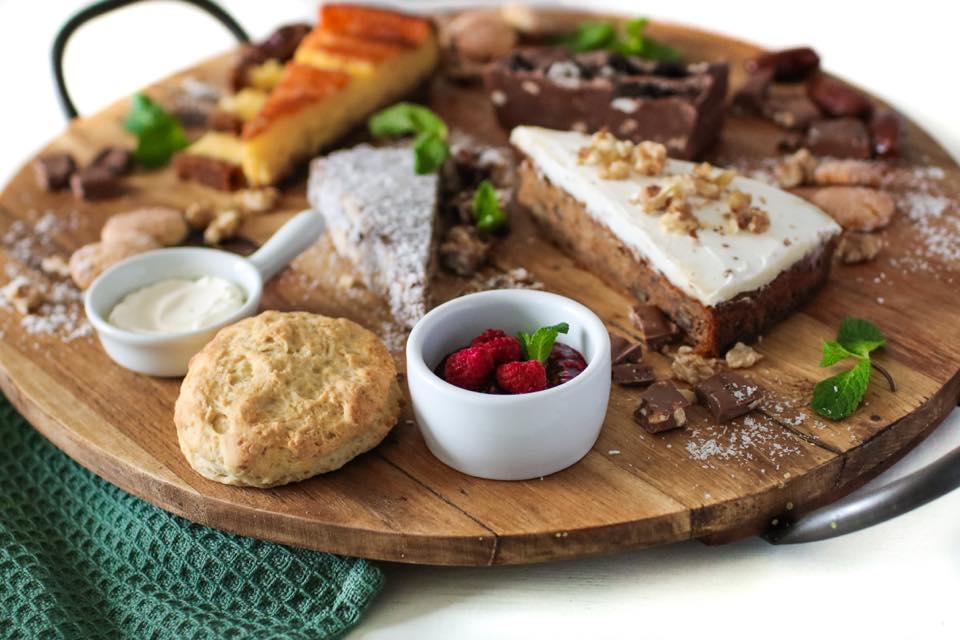 bord met taart