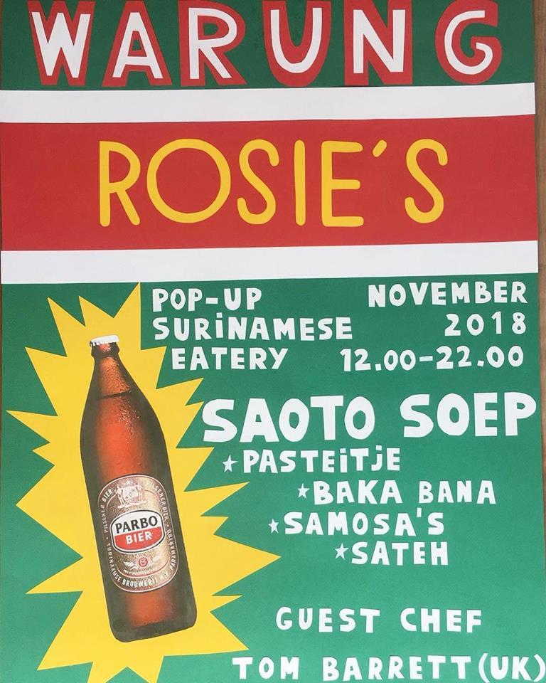 Warung Rosie's van Rosie's Amsterdam