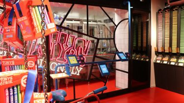 Tony's Chocolonely Choco Machine