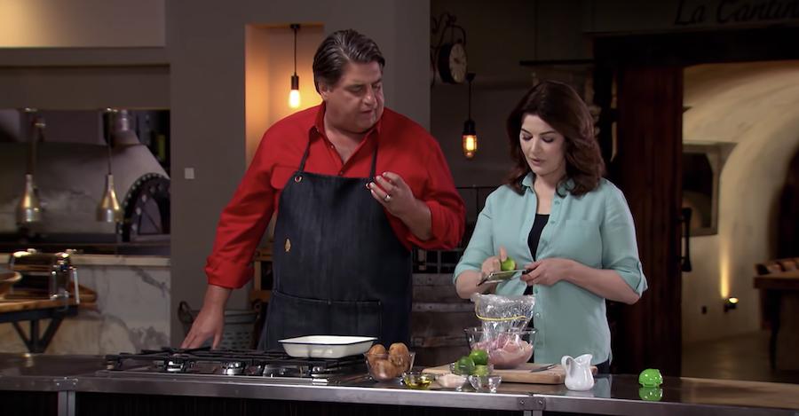 Nigella Lawson maakt kip met tequila en limoen