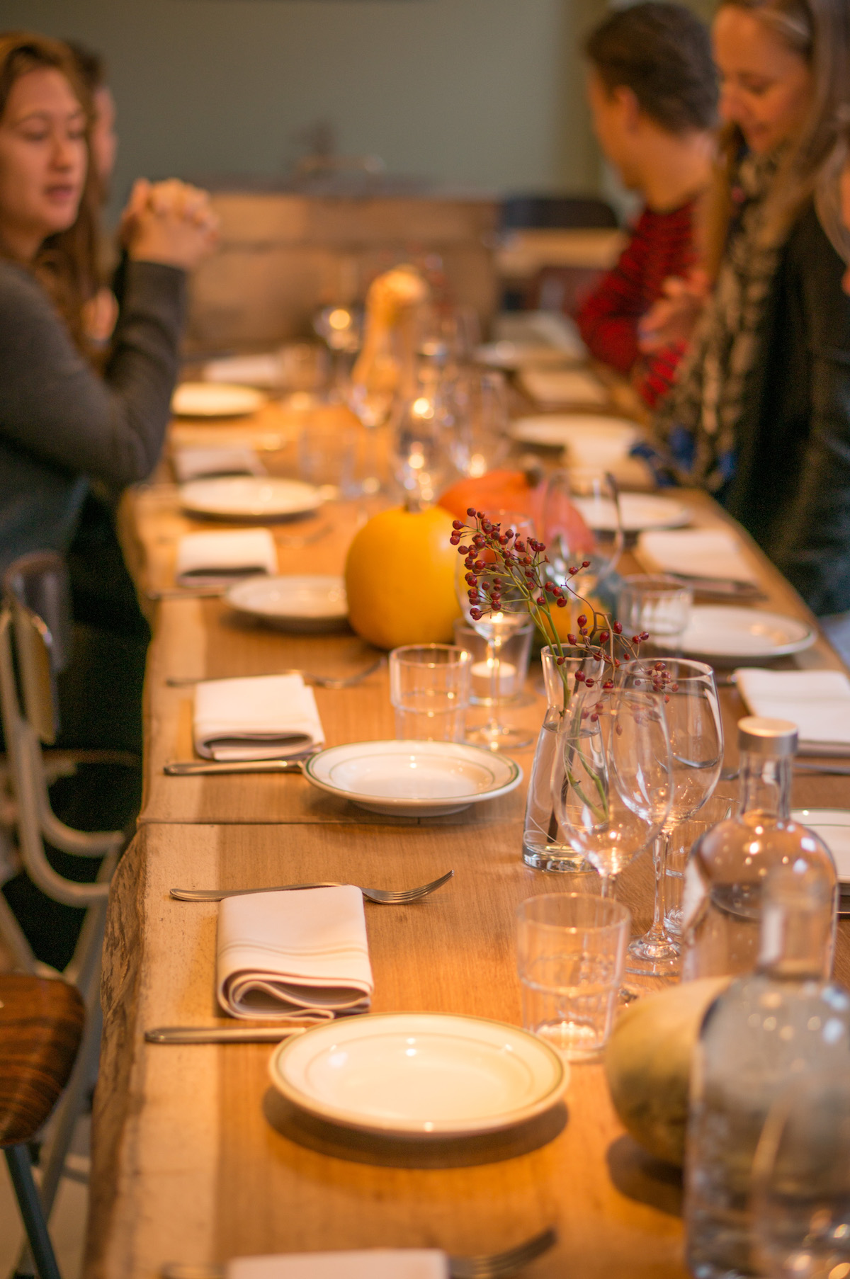 Franksgiving diner bij Frank's Smokehouse