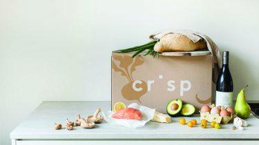 Online boodschappen doen met Crisp