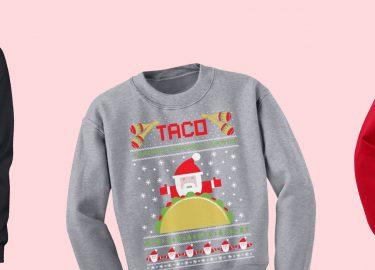 Foute kersttruien voor foodies