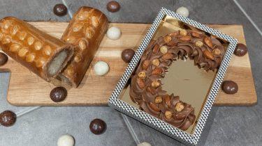 Chocoladeletters maken bij De Bijenkorf