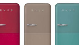 SMEG koelkasten in nieuwe kleuren