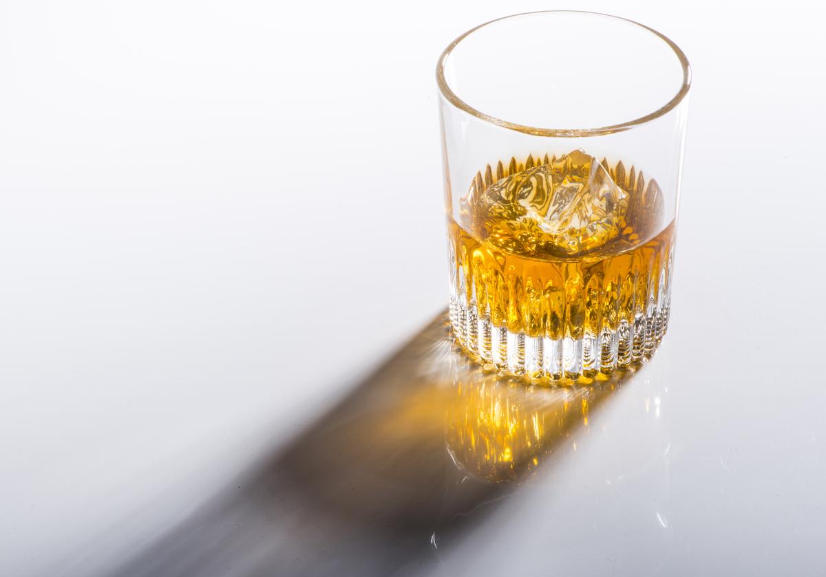 Whisky glas van kristal