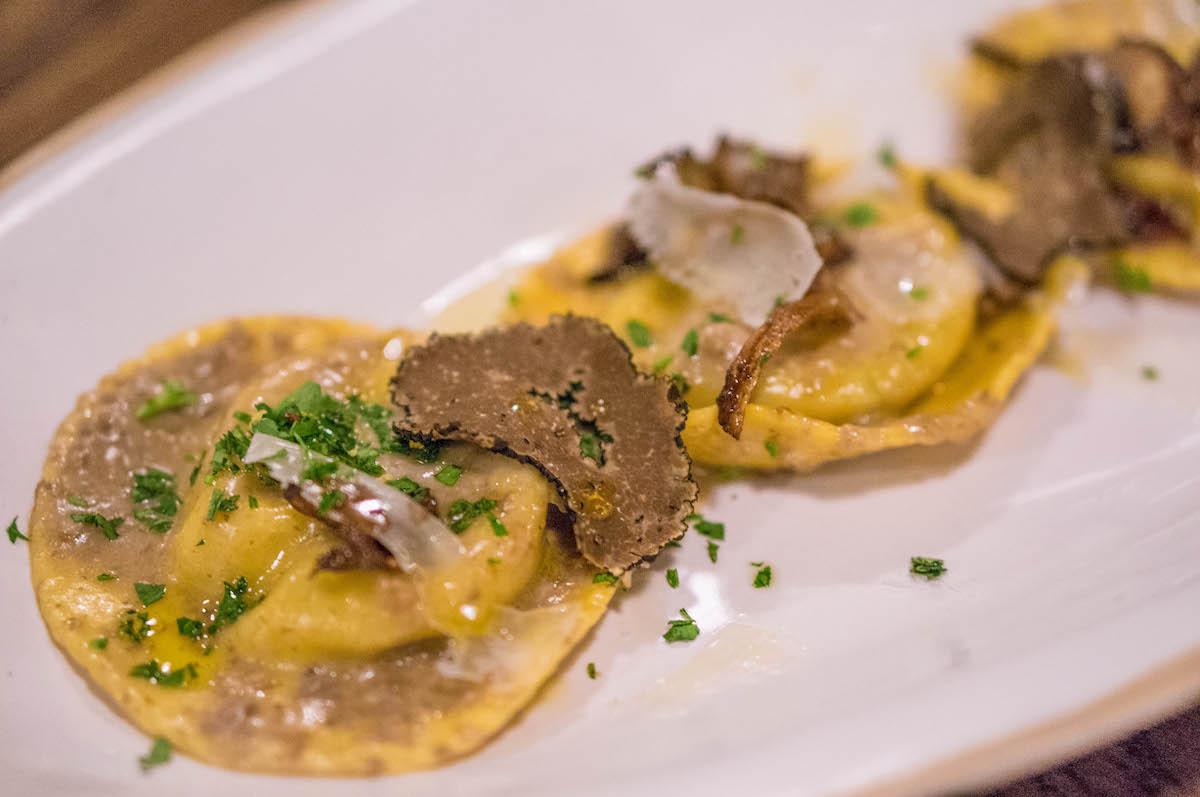 Truffel paddenstoelen ravioli van Jamie Oliver