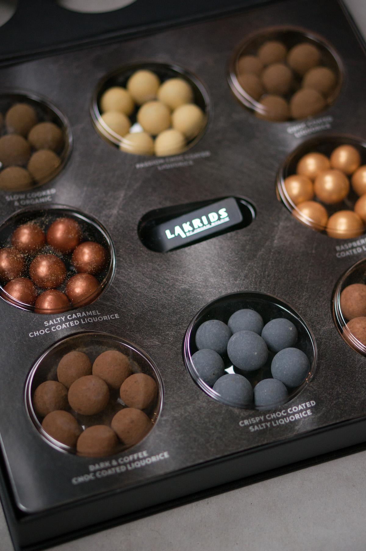 Black Selection Box van Lakrids