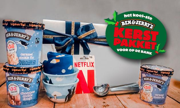 Ben & Jerry's kerstpakket