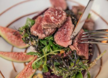 vleesgerecht bij Uptown meat Clueb