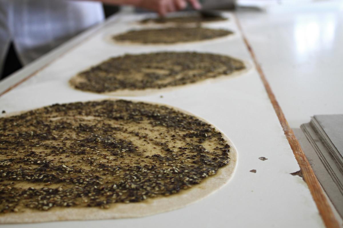 Manoushe maken