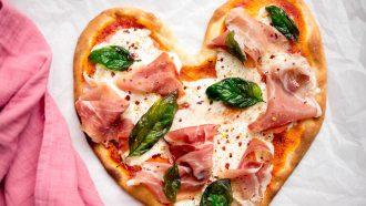 Pizza met burrata: valentijn recept