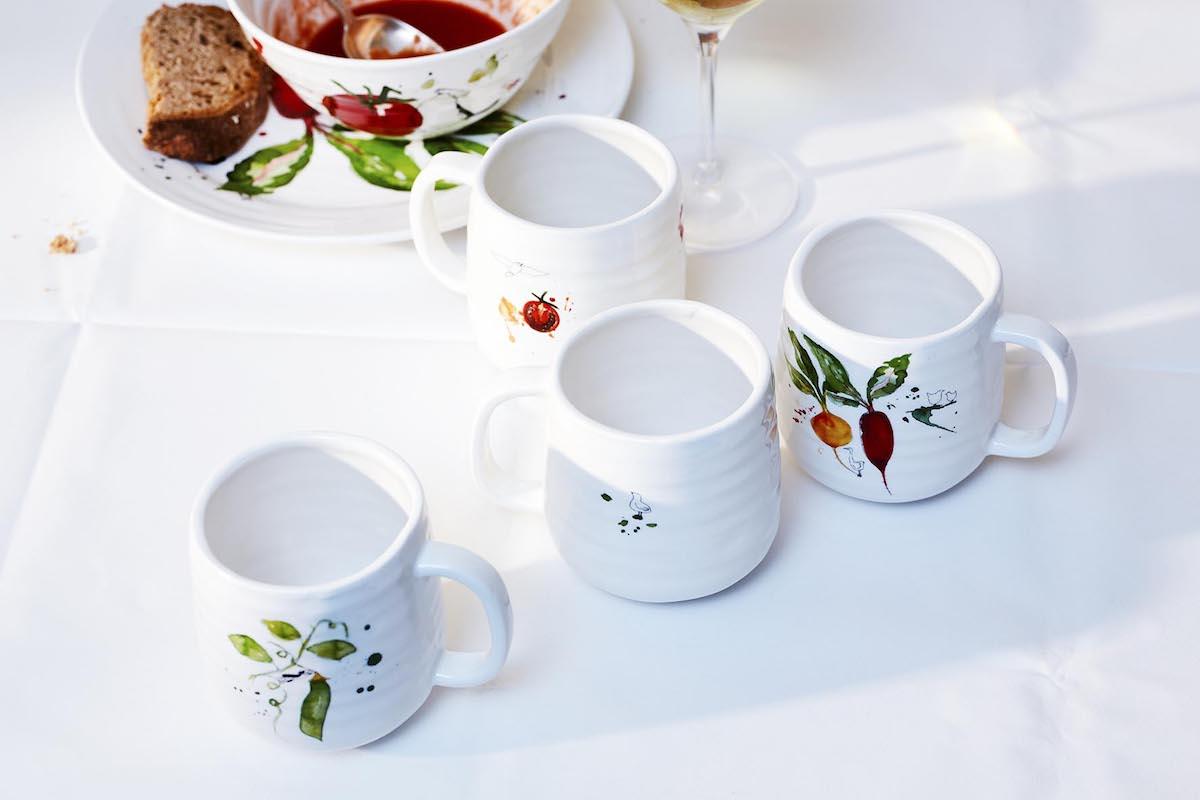 Afbeelding van servies en tafellinnen van Yvette van Boven 2