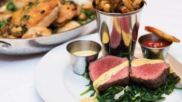 Afbeelding van biefstuk met bearnaisesaus