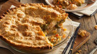 Afbeelding van Engelse chicken pie