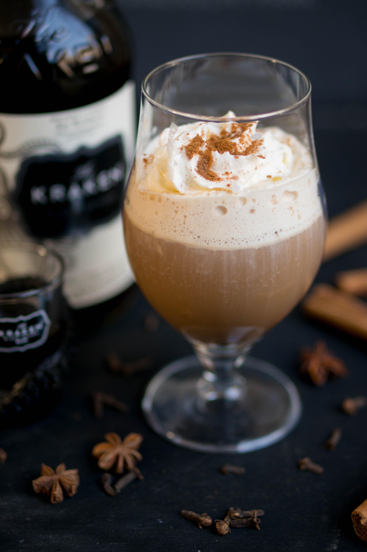 Chai latte met rum