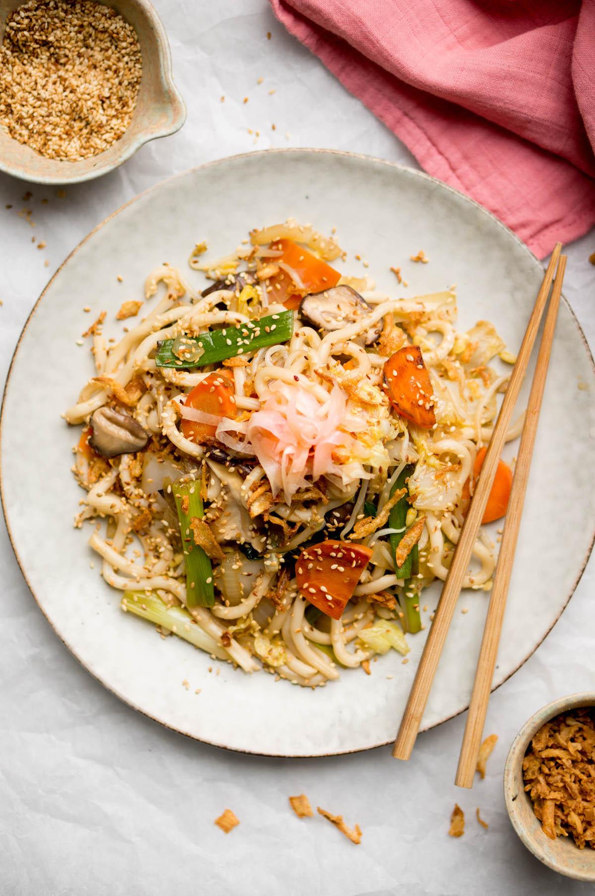 Udon noodles recept