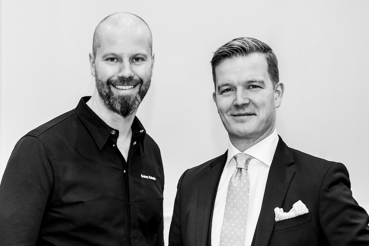 Chef Sidney Schutte en Sascha Speckemeijer