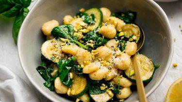 Gnocchi met courgette recept
