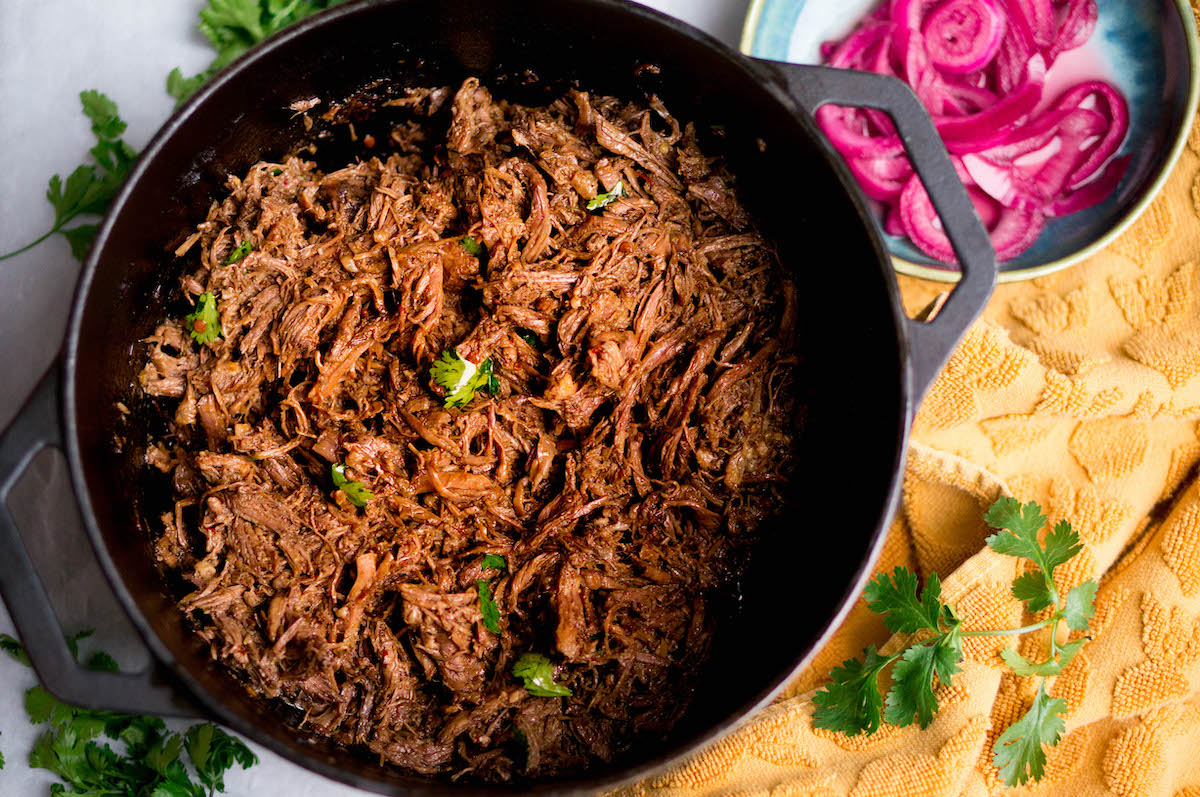 Mexicaans stoofvlees: barbacoa