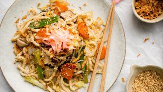 Yakisoba: gezonde noodles voor weekmenu