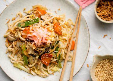 Yakisoba: gezonde noodles