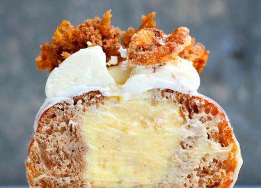 Carrot cake donut