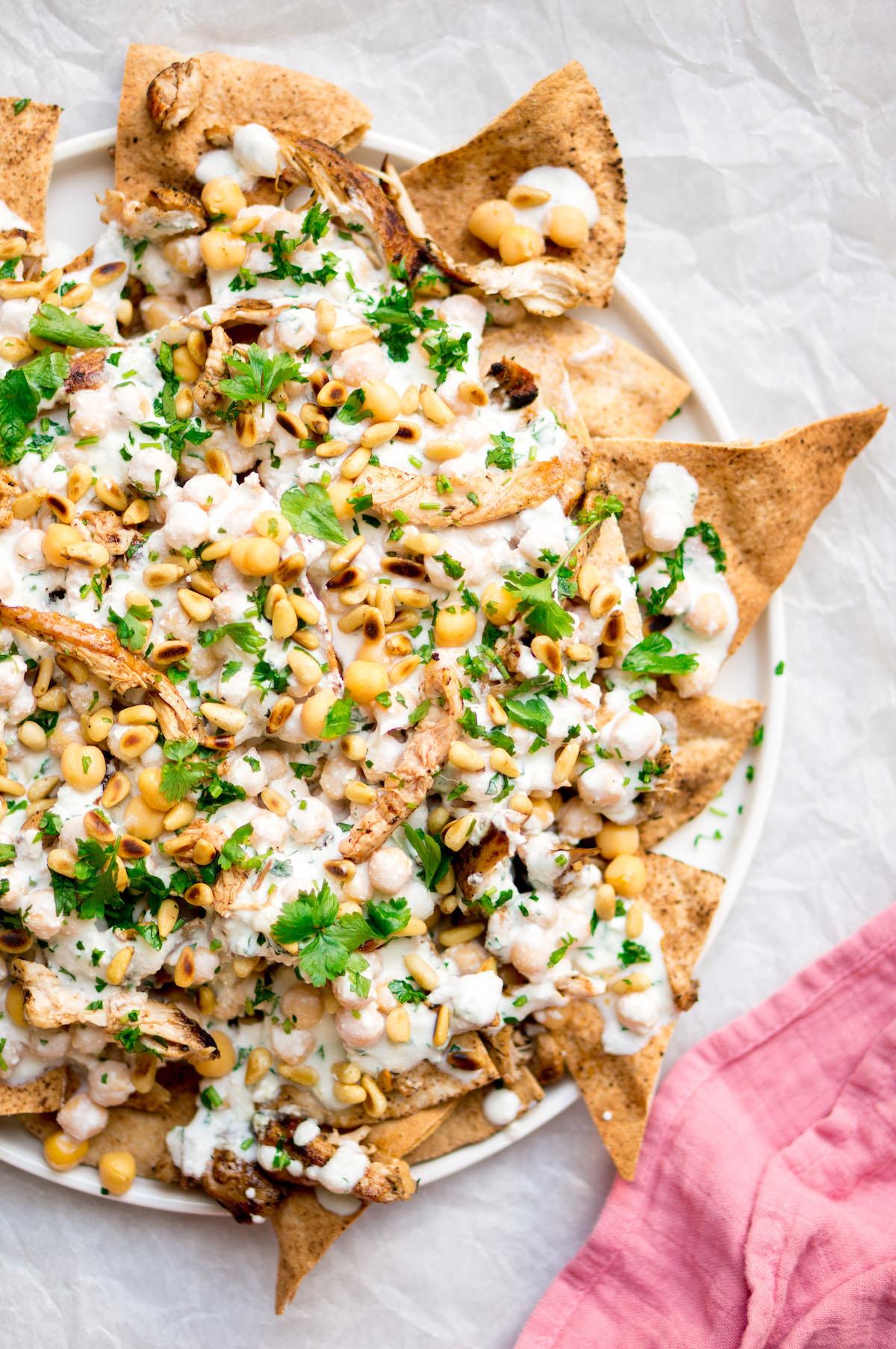 Gezonde nacho's op z'n Libanees