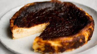 Baskische burnt cheesecake