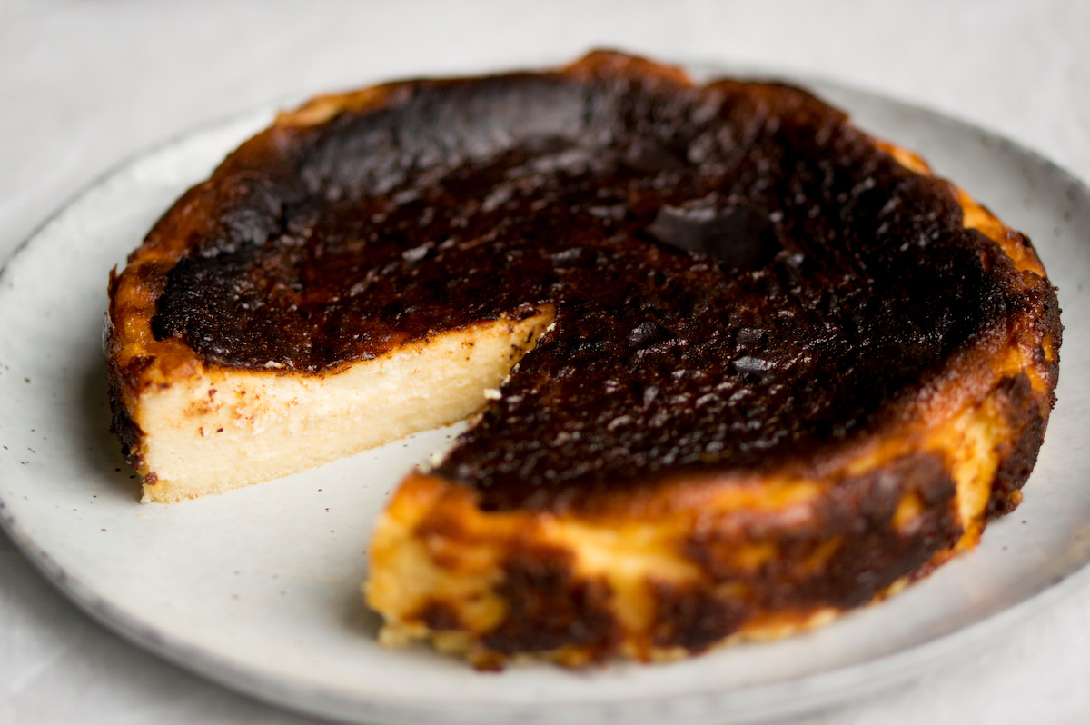 Baskische burnt cheesecake