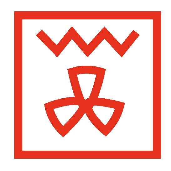 oven symbool voor geventileerde grill