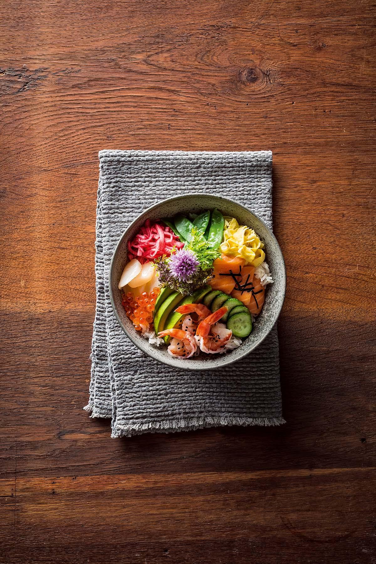 Japanse sushibowl recept