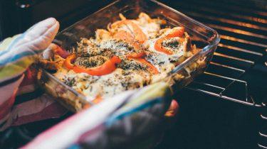 gerecht uit de oven