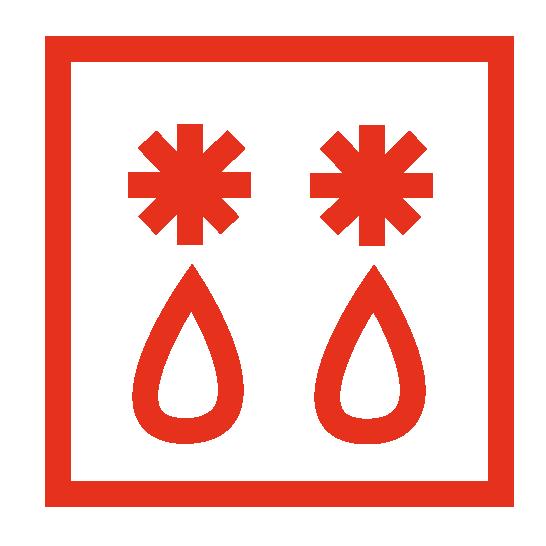 oven symbool voor ontdooien