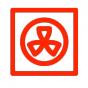 symbool voor heteluchtoven